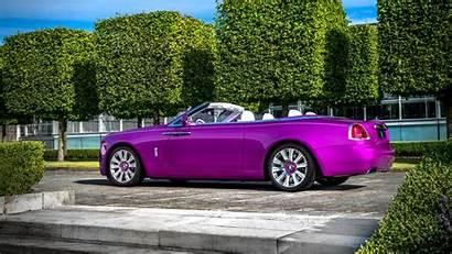 Royce Rolls Dawn Fuxia Wallpapers Cars 4k