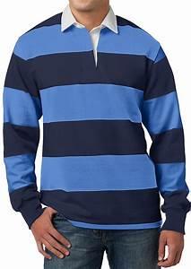 Light Color Chart Mens Premium Long Sleeve Rugby Polo Shirt Plain T Shirts