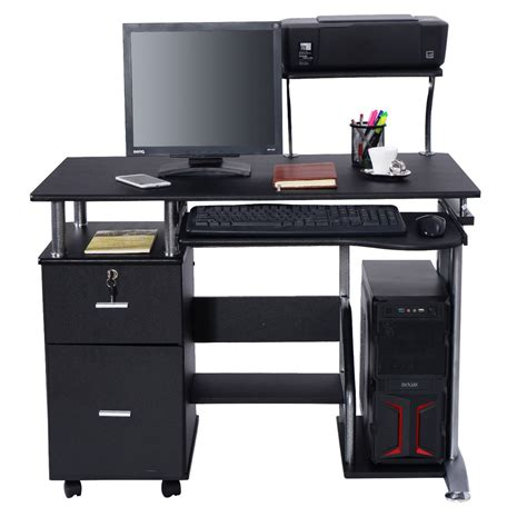 bureau laptop computer desk pc laptop table workstation home office
