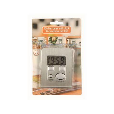 minuteur electronique cuisine minuteur de cuisine électronique inox avec fonction