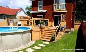 estrade pour piscine hors sol best local technique With piscine en bois semi enterree pas cher 9 les points forts dune piscine hors sol en bois