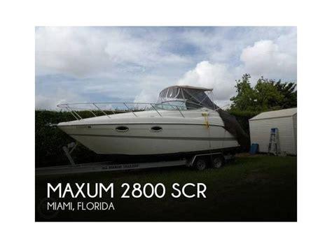 Maxum Boat Hat by Maxum 2800 Scr In Florida Motorcruiser Gebraucht 15753