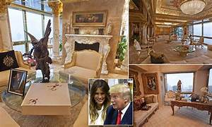 Donald Trump's $100m New York City penthouse in pictures