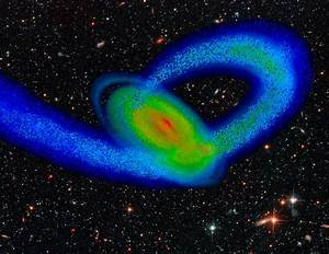 Milky Way Owes Its Shape To Crashes With Dwarf Galaxy