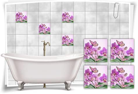 Fliesenaufkleber Orchidee by Fliesenaufkleber Fliesenbilder Blumen Orchidee