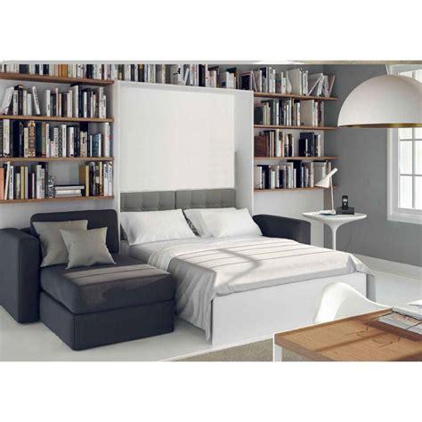 lit armoire canape armoire lit escamotable avec canapé intégré au meilleur