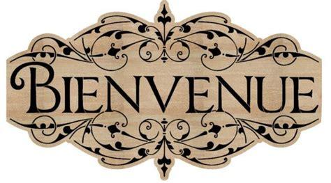 French Stencil - Bienvenue Stencil - Welcome - stencil ...