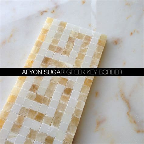 afyon sugar marble key border modern tile new