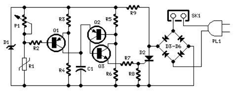 How Build Temperature Controlled Fan Circuit Diagram