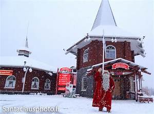 First Snow arriving in Santa Claus Village in Rovaniemi in ...