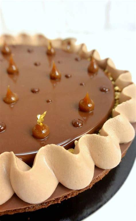 biscuit brownies pralin 233 noisette amandes cr 233 meux chocolat chantilly et gla 231 age gianduja