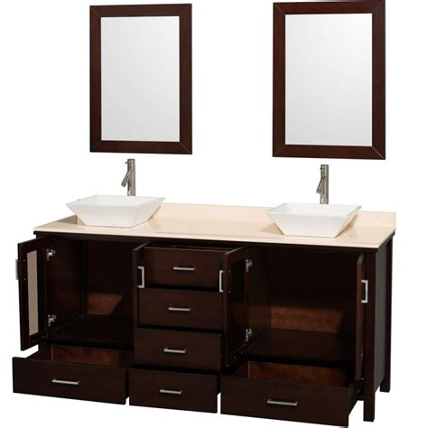 bathroom sink cabinet ideas bathroom design 72 quot bathroom vanity set with vessel sinks 32 single sink vanity