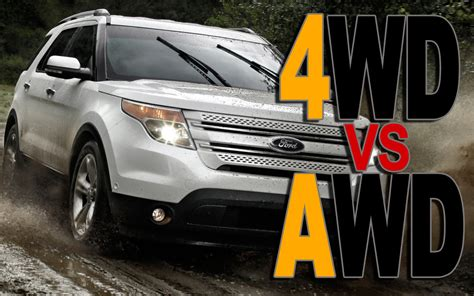 What Is The Difference Between 4wd And Awd? Certified