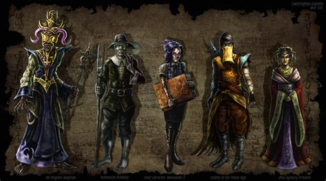 Cthulhu Cultists by CMurr on DeviantArt