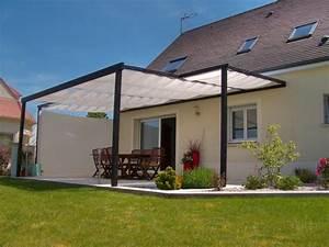 Store Terrasse Pas Cher : toile d 39 ombrage sur ma terrasse bois ~ Melissatoandfro.com Idées de Décoration