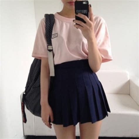 Get the skirt for $54 at store.americanapparel.net - Wheretoget | Pale grunge Hipster backpack ...