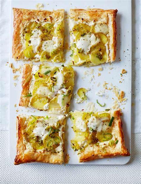 Tartë e kripur me patate dhe mocarela - Neps