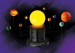 Educational Science Motorized Solar System Earth Planets ...