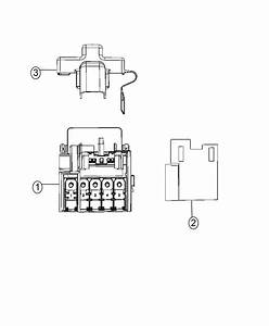 Dodge Ram 1500 Can Buss  Connector  Electrical  Star  Export  Mexico  Us  Canada
