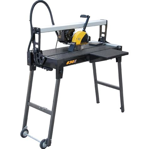 sears tile saw blade bridge tile saw with water system performance perfected