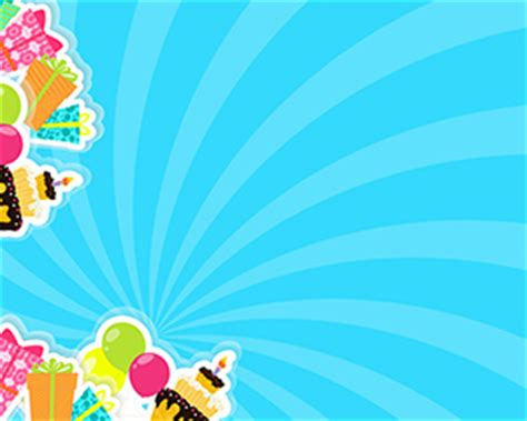 happy birthday picture  powerpoint templates