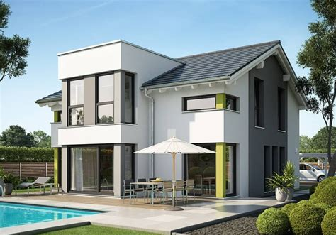 fertighaus satteldach modern evolution 154 v7 bien zenker house exterior and facades