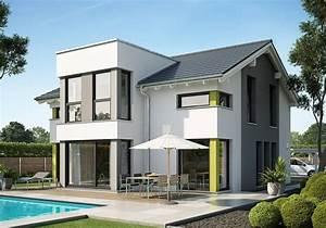 Modernes Haus Satteldach : evolution 154 v7 bien zenker house exterior and facades ~ A.2002-acura-tl-radio.info Haus und Dekorationen