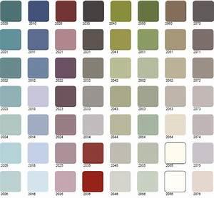 voir nuancier peinture gratuit With palette de couleur leroy merlin