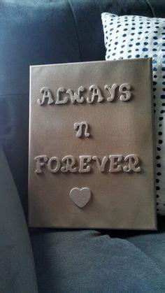 diy anniversary gift   bought  shadow box