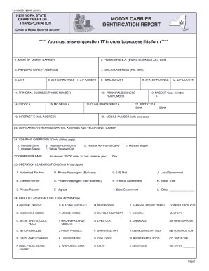 fmcsa form mcs 150 27 printable mcs 150 form templates fillable sles in