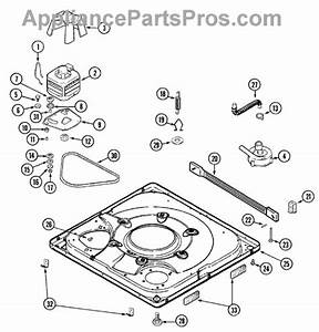 Parts For Maytag Mav7600aww  Base Parts