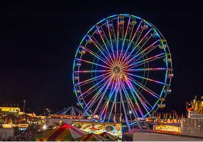 Ferris Wheel Lights Carnival Animated Night Gifs