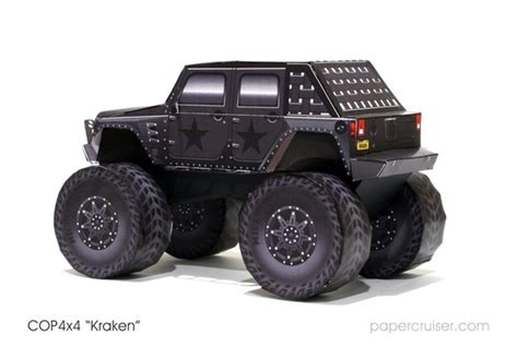 jeep kraken model completed the cop4x4 kraken papercruiser com