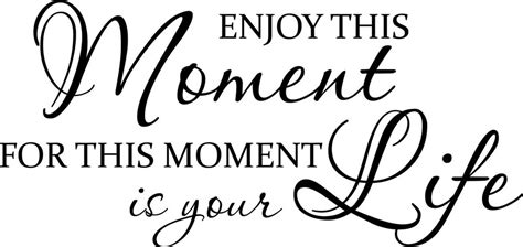 enjoy  moment   moment life