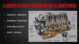 Lubrication System In Ic Engine
