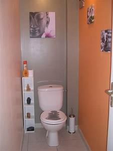 idee toilettes zen With decoration de toilettes zen