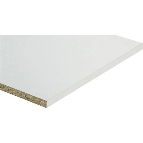 planche de bois agglomere tablette m 233 lamin 233 blanc l 250 x l 40 cm x ep 18 mm leroy merlin