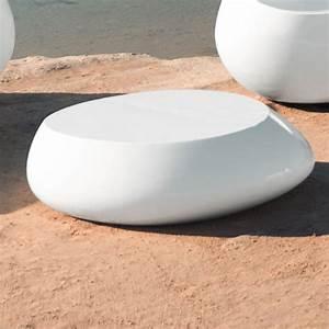 Table Basse Galet Led : table basse lumineuse sans fil stone vondom ~ Melissatoandfro.com Idées de Décoration