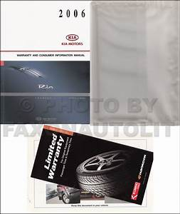 2006 Kia Rio Repair Shop Manual Original 2 Vol  Set