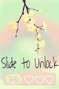 Slide to unlock wallpaper