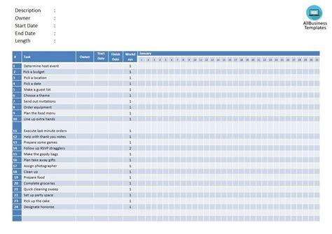 gantt chart powerpoint template templates