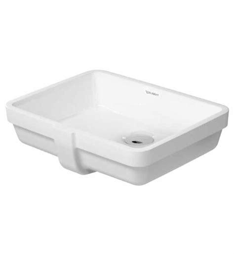 Duravit Vero Pedestal Sink by Duravit 03304300001 Vero 16 7 8 Inch Undermount Porcelain