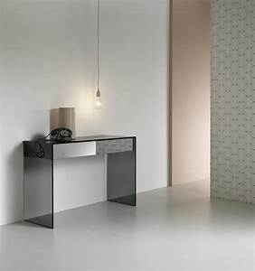 Console En Verre : tables consoles en verre design et modernes ~ Teatrodelosmanantiales.com Idées de Décoration