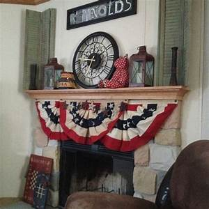33 Best Images About Mantel Ideas For July 4th On