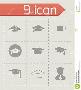 Vector Academic Icon Set Stock Vector - Image: 53019079