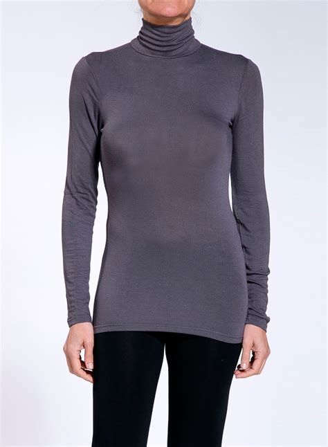 turtleneck blouse blouse simple turtleneck sleeves touli