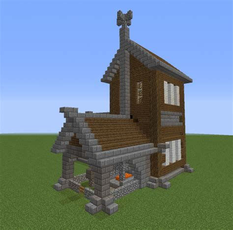 medieval blacksmith  housing blueprints  minecraft houses castles towers