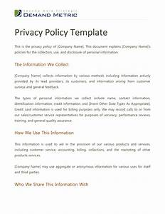 Best photos of policy outline format policy format for Confidentiality policy template