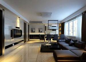 gallery of modern living and dining room unique in With modern living and dining room design
