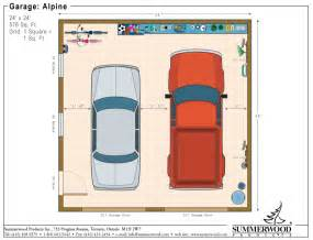 24X24 Garage Floor Plans